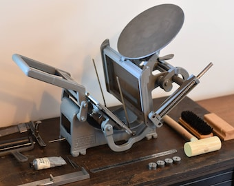 "Kelsey Excelsior Model X - 6"" x 10"" Letterpress Printing Press w/ accessories"