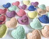 """Unique Bridal shower favors, heart baby shower favors, 2.5"""", bridal shower favors, wedding favors, thank you gifts"""