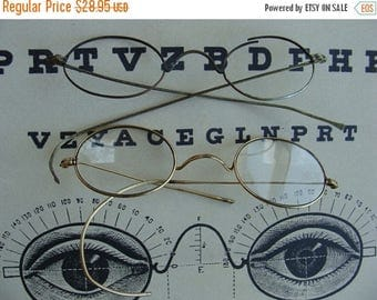 ONSALE LQQK Antique Spectacles Over 100 years old Lot N010
