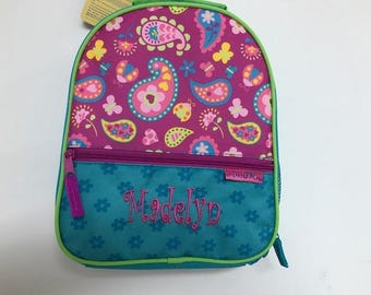 Personalized Stephen Joseph All Over Print Paisley Lunchbox