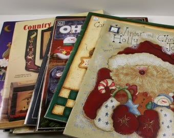 Set of 28 Tole Painting Books - Assorted - Craft Painting - Books