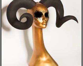 Large Ram Horns... DIY Craft Material Vegan Horns EVA Foam Fabrication Lightweight Handmade
