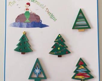 Winter Trees  Decorations 1
