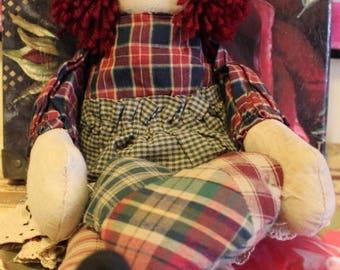 on sale raggedy rag doll