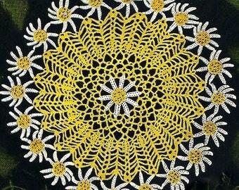 Daisy Doily Crochet Pattern 723141