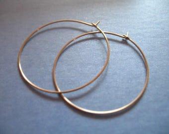 Shop Sale.. 1 5 10 prs, 14k Gold Filled Hoop Earring Earwire, 20 mm, interchangable add a dangle wholesale ihm.p gfh20 solo ih