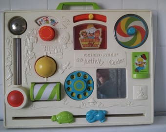 Vintage Fisher Price Activity Center 1973
