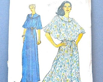 ON SALE Vintage Vogue 7128 Dress Sewing Pattern Evening Dress  Bust 32.5 inches