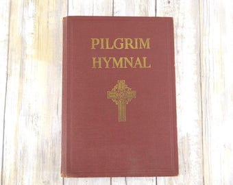 Pilgrim Hymnal from 1935, Hardcover