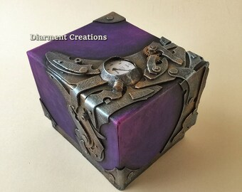 Steampunk Secret Square Box