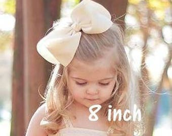 Big Bows, Girls Big Bow, Extra large Bows, 8 inch Bow, 7 inch hairbow, 6 inch hair bow, Southern Style Bow, Girls Jumbo Bow, X-tra Large Bow