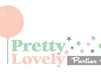 Premade Party Planner Logo Design