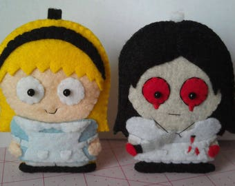 Alice in Wonderland and Hysteria Alice from Madness Returns