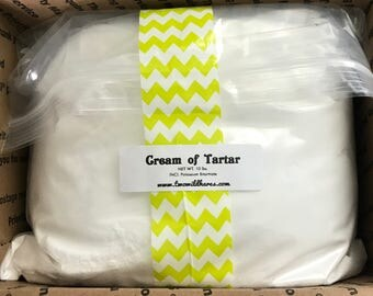 10 LB CREAM of TARTAR, Bubble Bar Hardener, Potassium Bitartrate