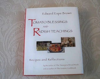 "Vintage Cookbook ""Tomato Blessings and Radish Teachings""  Yoga Zen Inspired"