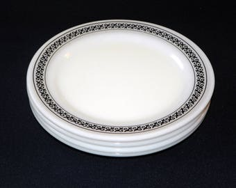 Pyrex Champagne Restaurantware 8 Inch Lunch/Salad Plates, Set of 4 (8 Plates Available)