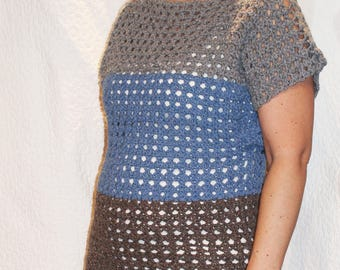 Crochet Tunic Linen