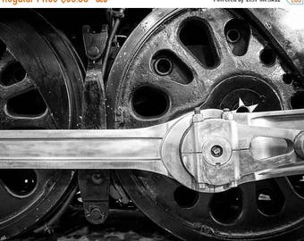 SUMMER SALE-Ends July 5- Locomotive Photo Train Vintage Photo Engine Photography Black White Man Cave Gift For Men Masculine For Guys #vin3