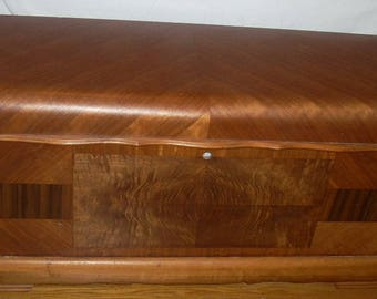 Vintage Antique Lane Waterfall Cedar Hope Chest with Recall Repair Kit Local Pick Up Buffalo, NY