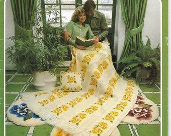 Brunswick Afghan Patterns, Vol. 788, 19 Knit & Crochet Designs, Vintage Gorgeous Actual Booklet
