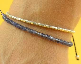 Iolite  bracelet