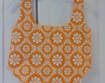 Farmers Market Bag, Reusable Grocery Bag, Tote, Tote Bag, Produce Bag, Grocery Bag, Cotton Shopping Bag, Reusable  Fabric Shopping Bag