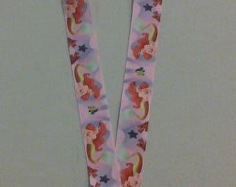 Little Mermaid Ariel Lanyard ID Badge holder 248501