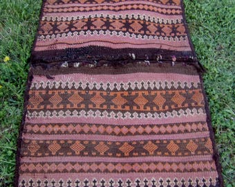 "Superb 3 ft 2"" x 1 ft 11 ""  Tribal Khurjeen Saddle Bag. Hand Woven. Kilim. Cushions/pillows."