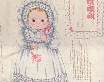 Vintage Baby Doll Pillow Pattern