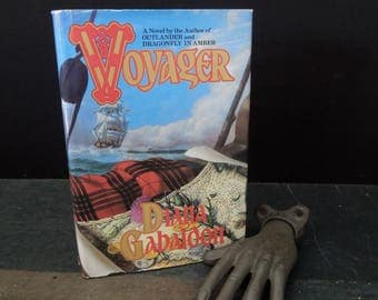 Voyager by Diana Gabaldon - Historical Fiction Romance Mystery Sci Fi Fantasy - Hardcover 1994 Dust Jacket