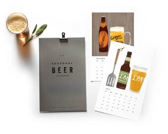 2018 Seasonal Beer Calendar
