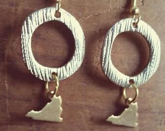 Virginia Hoop Earrings