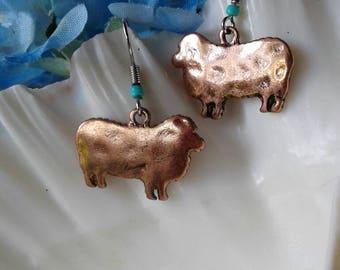 Sheep Lamb Earrings