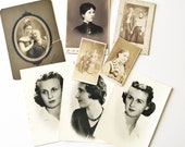 Vintage Photos and Cabinet Cards