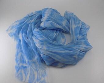 Handmade Silk Scarf --- Animal Print
