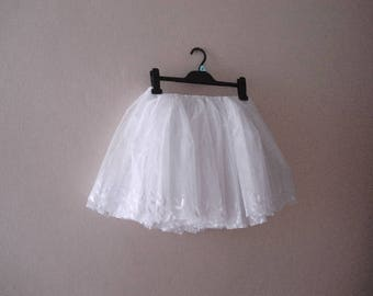 White tulle skirts for adults, Ivory Womens Tutu, flower girl boho wedding skirt,  tulle tutu, Women Tutu Skirt