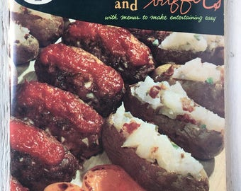 1958 Good Housekeepings Company Meals and Buffets - Vintage Cookbook