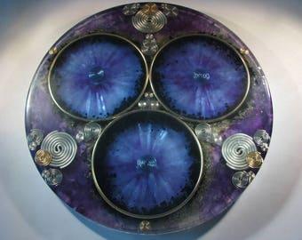 Orgone Mandala - Selenite and Celestite