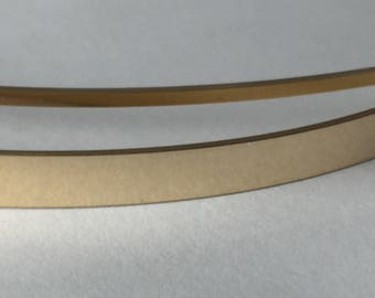 14kt gold fill flat stock, flat wire, rose gold rectangle wire, sizing stock, bracelet blank, wire supplies, 1/2 ozt , sold by weight,