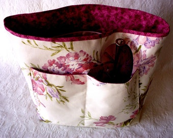 Large Purse Organizer, Bag Insert, Women's Purse Insert, Large Handbag Insert, Purse liner with pockets, Gift for Her, extra pockets