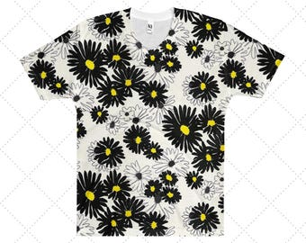 Daisy Men's V-Neck T-Shirt: XS, S, M, L, XL, 2XL