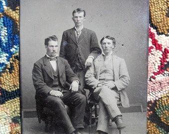 Tintype Tres Amigos