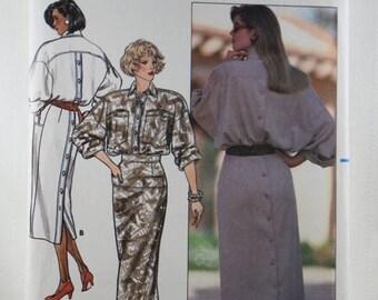 ON SALE Butterick 4811, Misses' Dress Sewing Pattern, Sewing Pattern, Misses' Patterns, Vintage Pattern, Misses' Size 8, 10, 12, Uncut