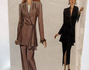 ON SALE Vogue 8766, Misses' Jacket, Skirt and Pants Sewing Pattern, Very Easy Very Vogue, Misses' Size 8-10-12, Uncut