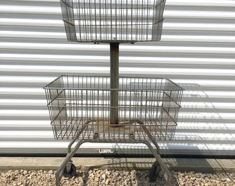 Grocery Store Wire Basket Display