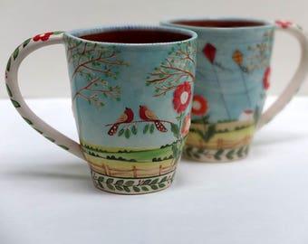 Prairie Skies Mug, Coffee Mug   - READY TO SHIP
