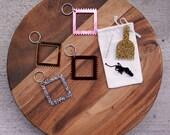 MICRO // Mini Small Loom Acrylic Keychain Weaving Kit