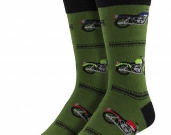 Mens Motorcycle Socks