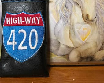 Highway 420 glass pipe pouch