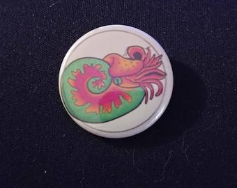 Cephalopod Pinback